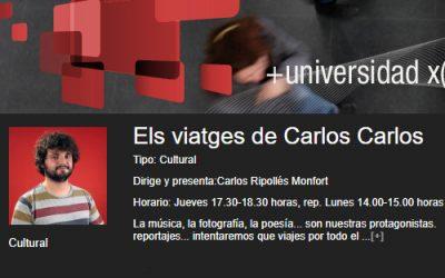 Entrevista Els viatges de Carlos Carlos
